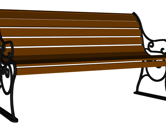 Basketball benched clipart.  wooden bench huge