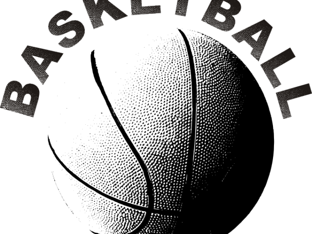 Basketball black white clipart vector free Basketball Black And White Clipart 15 - 300 X 300 | carwad.net vector free