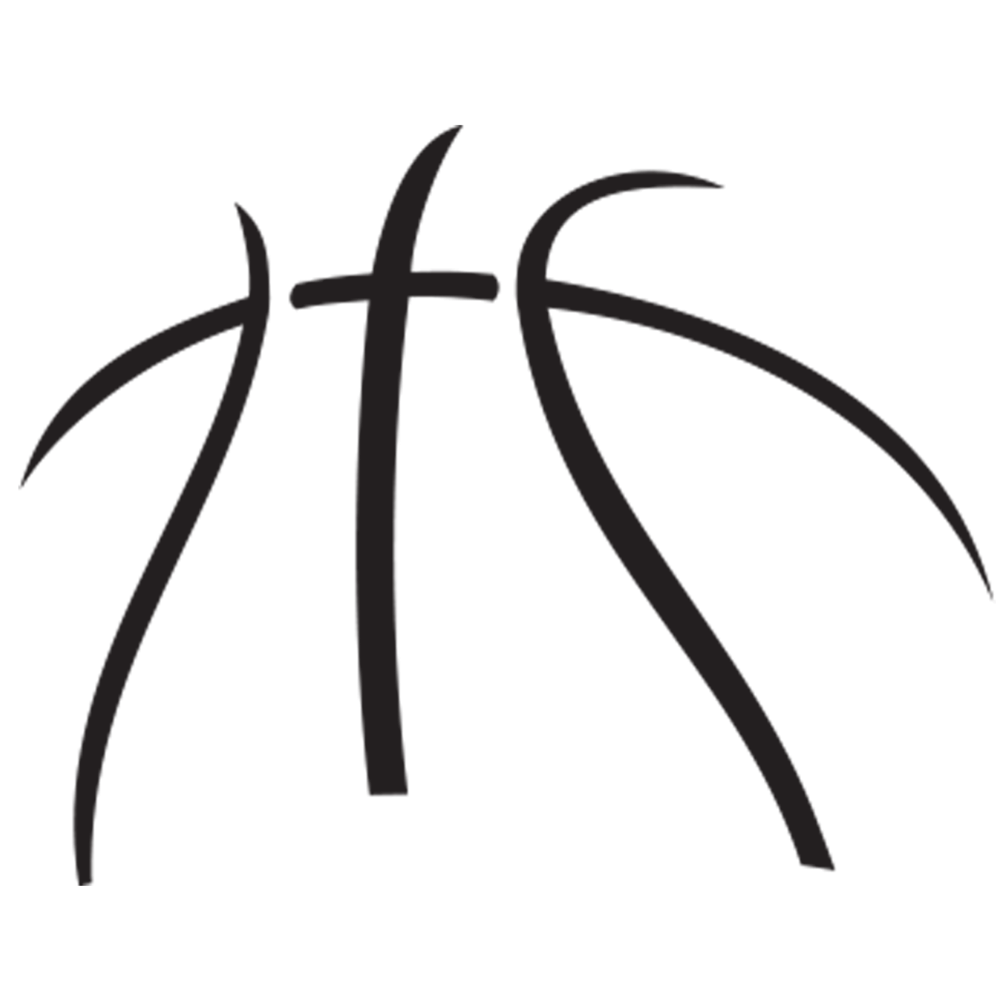Basketball shadow clipart vector freeuse stock 28+ Collection of Basketball Clipart Black And White Png | High ... vector freeuse stock