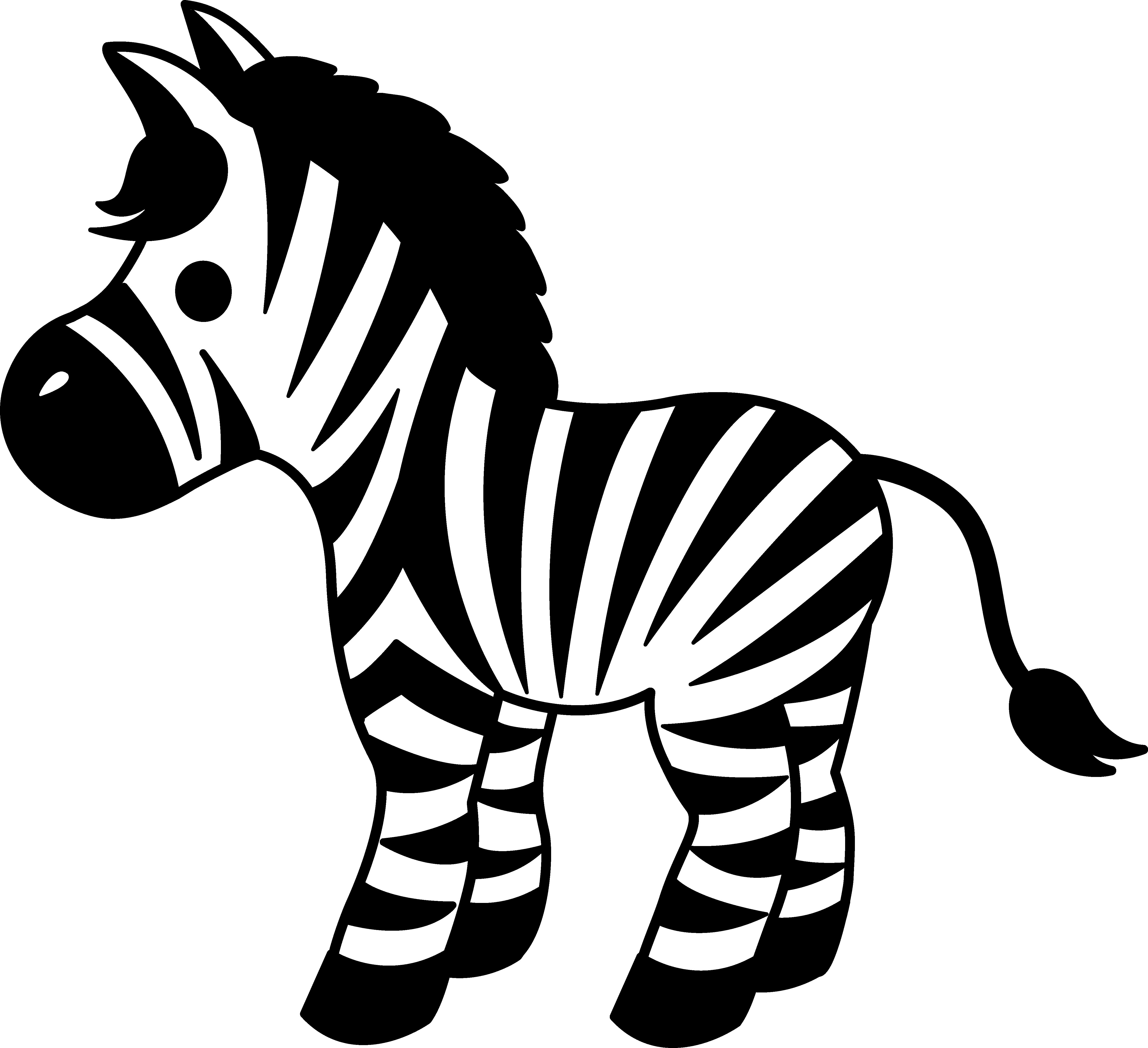 Basketball block clipart picture freeuse stock Zebra Basketball Cliparts Free collection | Download and share Zebra ... picture freeuse stock