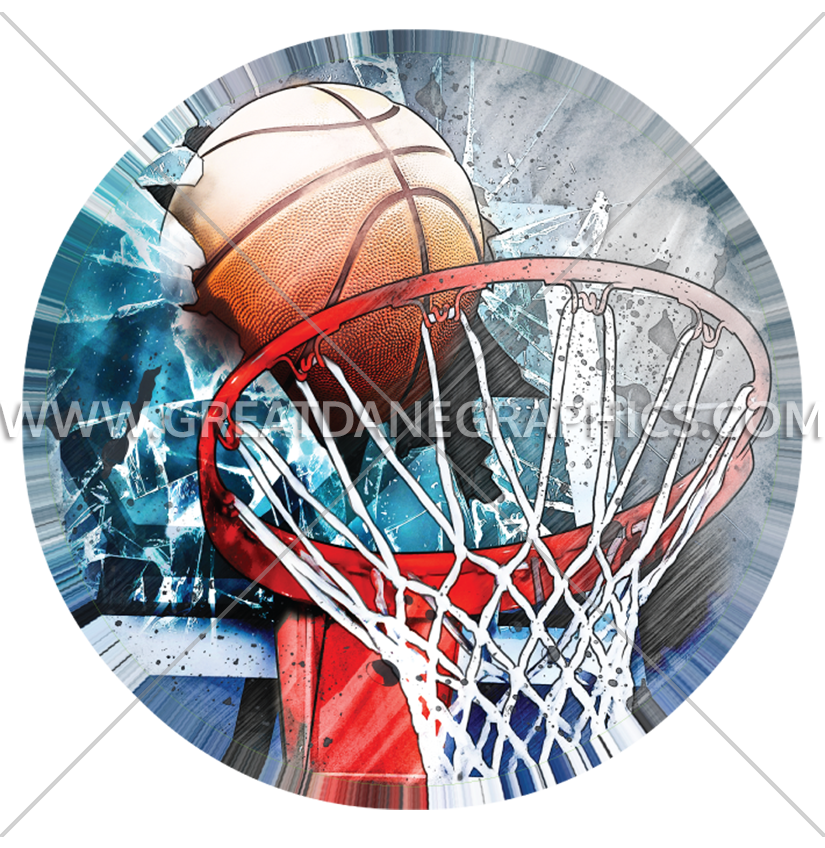 Basketball board clipart jpg freeuse download Basketball Board Crash | Production Ready Artwork for T-Shirt Printing jpg freeuse download