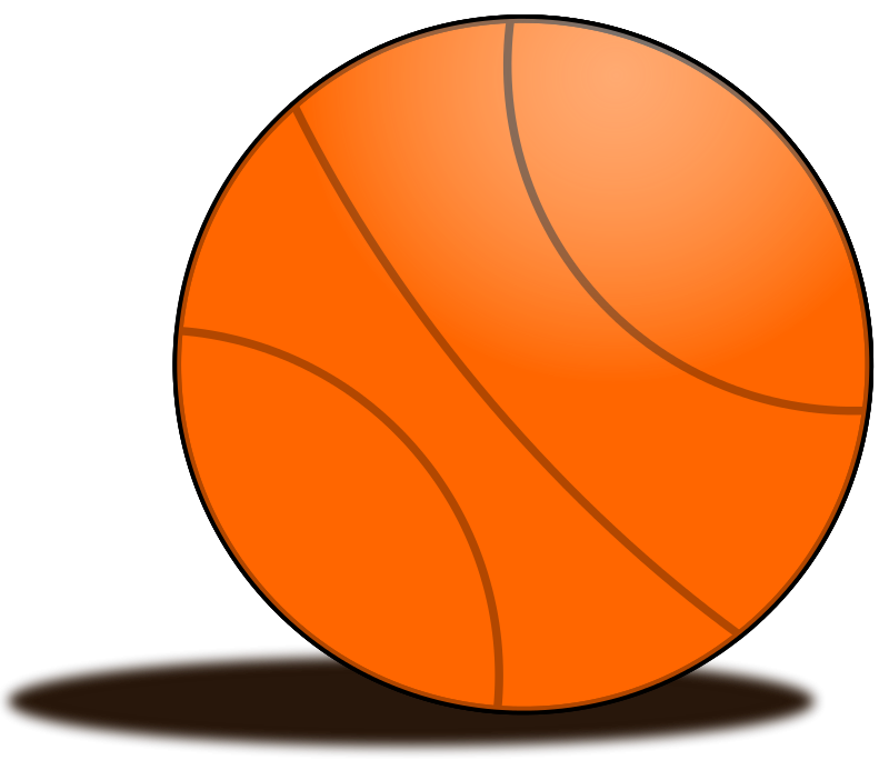Orange Basketball Clipart (39+) clipart freeuse stock