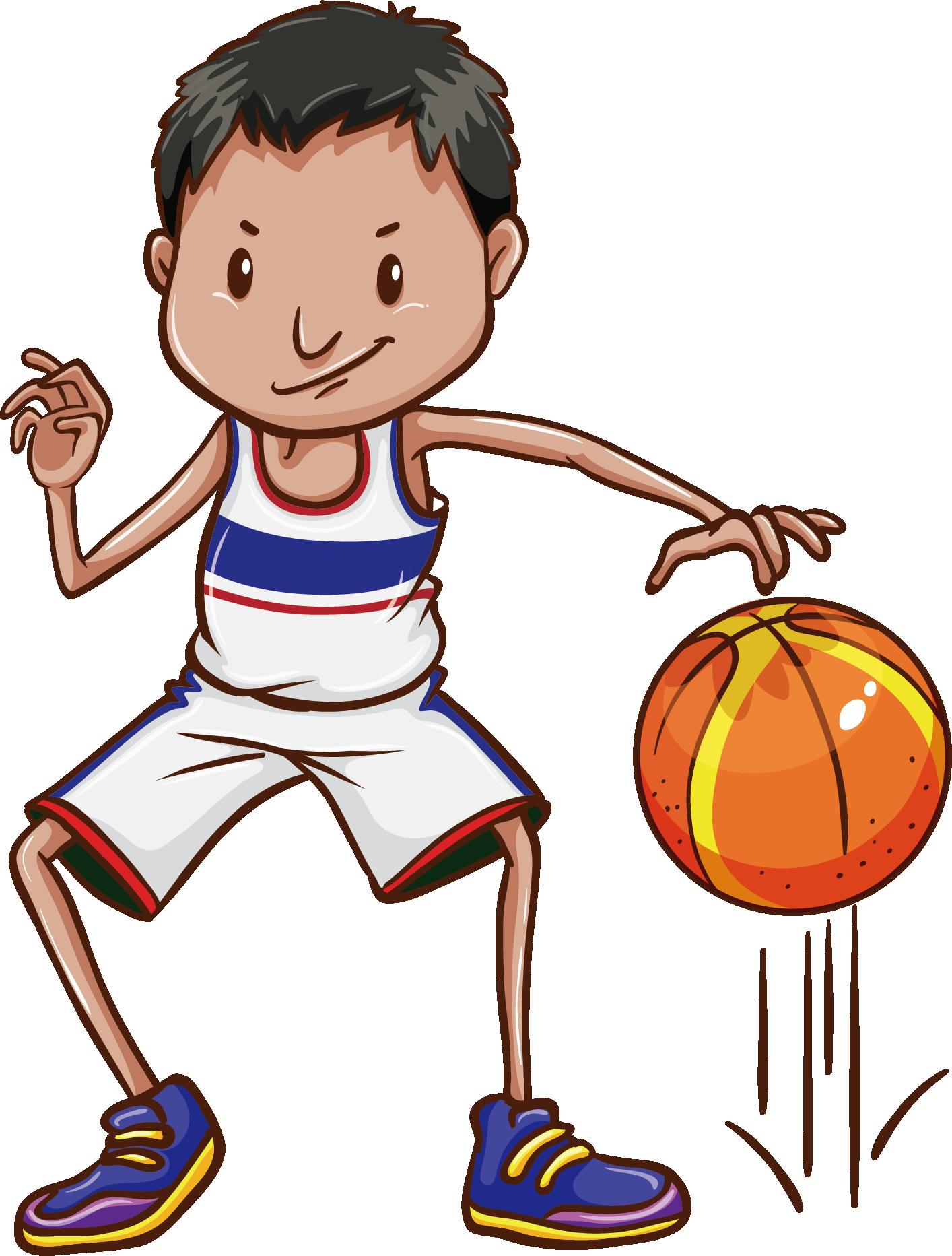 Basketball boy clipart banner free library Basketball Dribbling Clip art - Physical education basketball 1414 ... banner free library