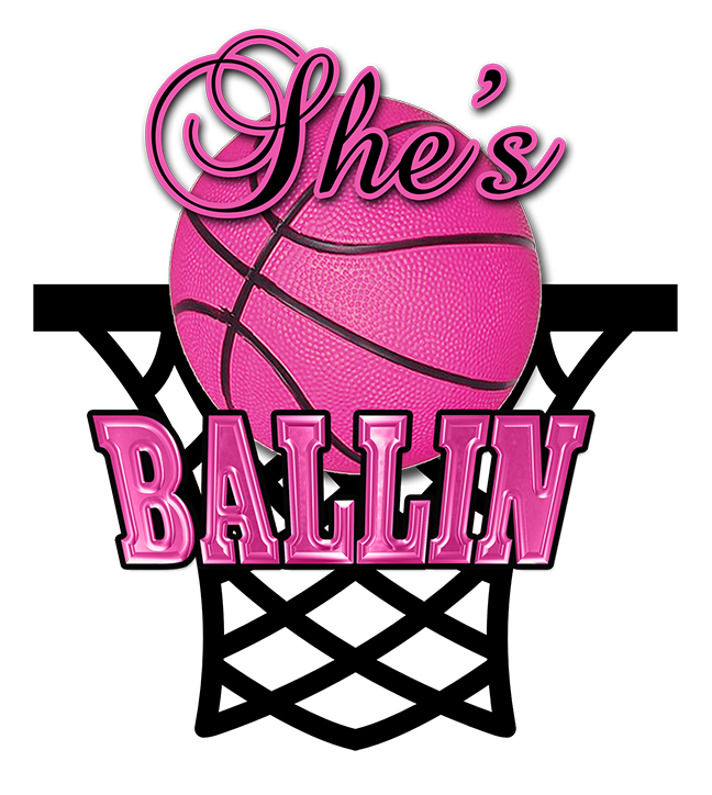Basketball cancer fundraiser clipart jpg black and white stock Fundraiser by Ericka Porter Mba : She's Ballin Girls Basketball jpg black and white stock
