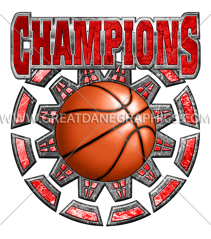 Basketball clipart color clip download Basketball Champions | Production Ready Artwork for T-Shirt Printing clip download