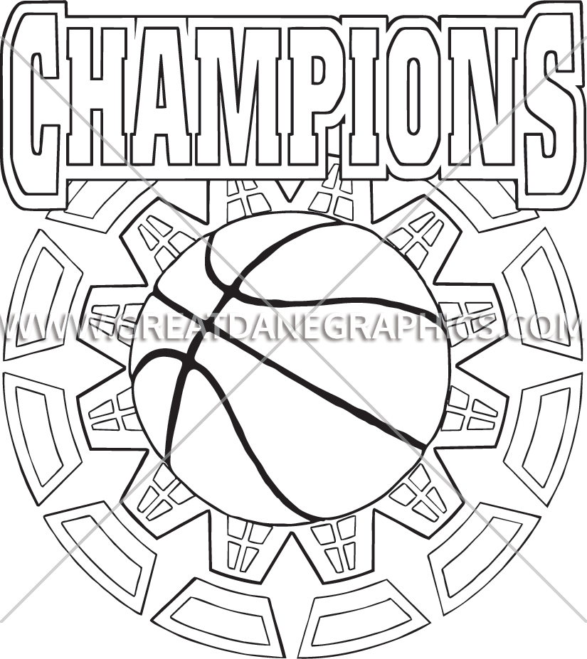 Basketball champions clipart clipart Basketball Champions | Production Ready Artwork for T-Shirt Printing clipart