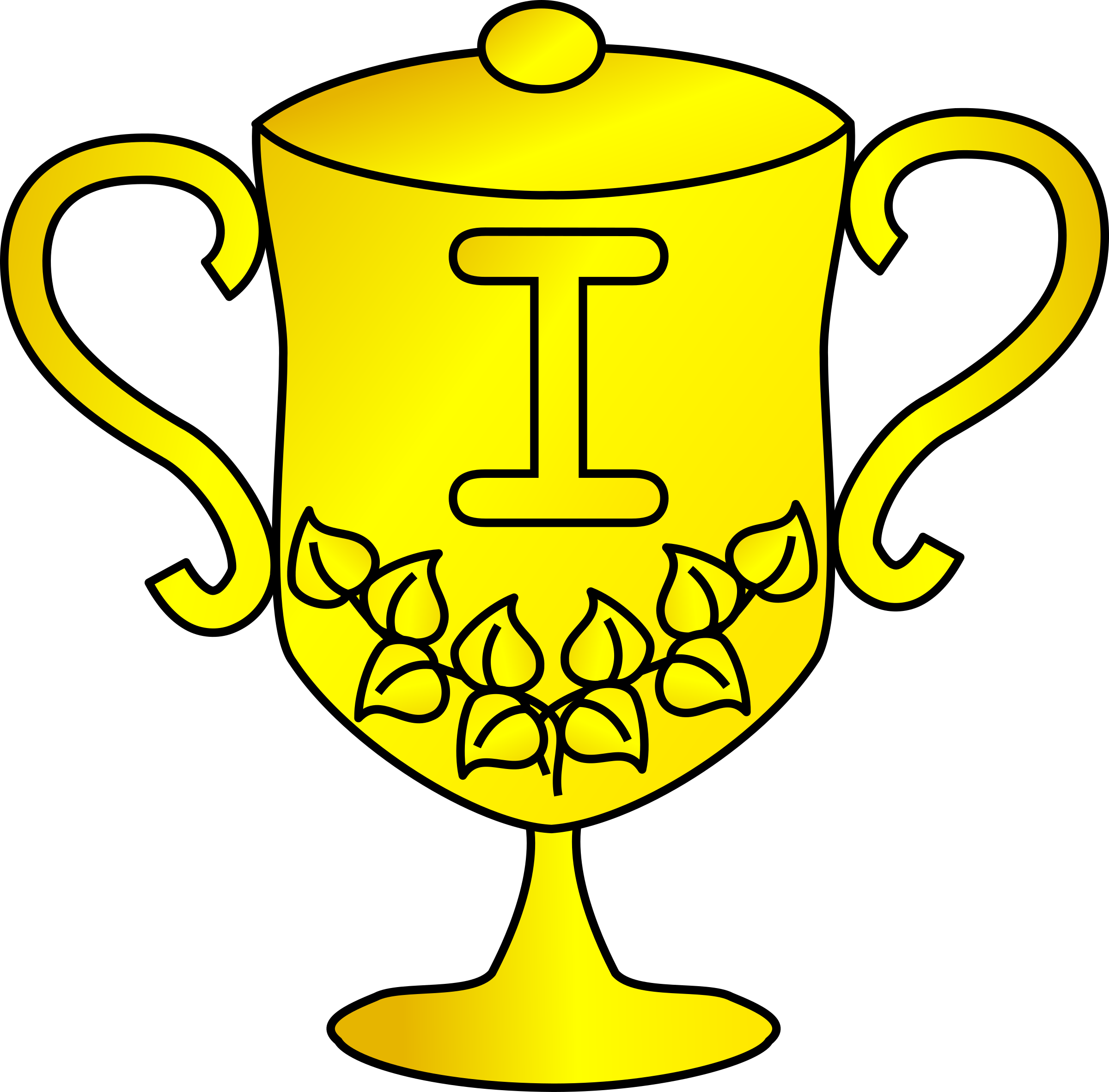 Basketball championship trophy clipart picture free Golden Trophy Clipart & Golden Trophy Clip Art Images #2215 - OnClipart picture free