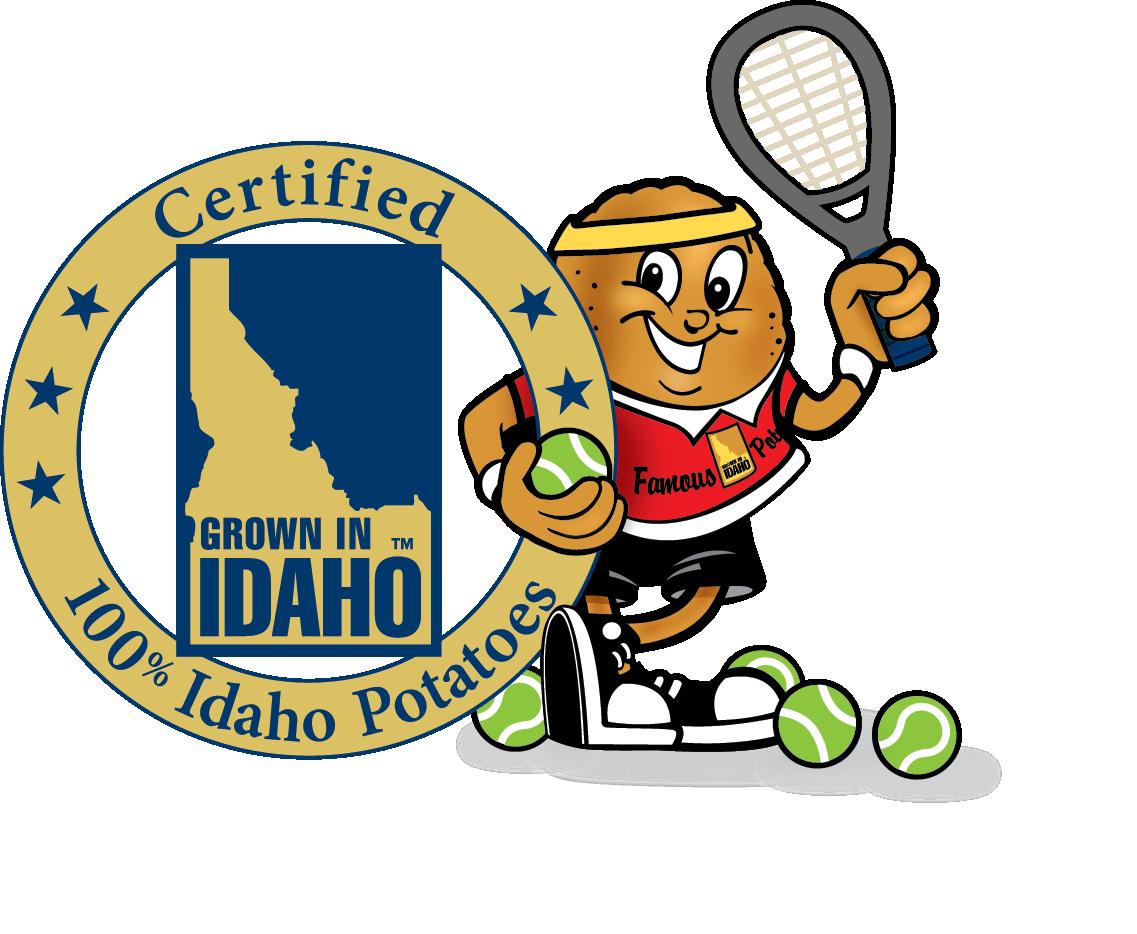 Clipart football fan jpg library Idaho Potato Commission jpg library