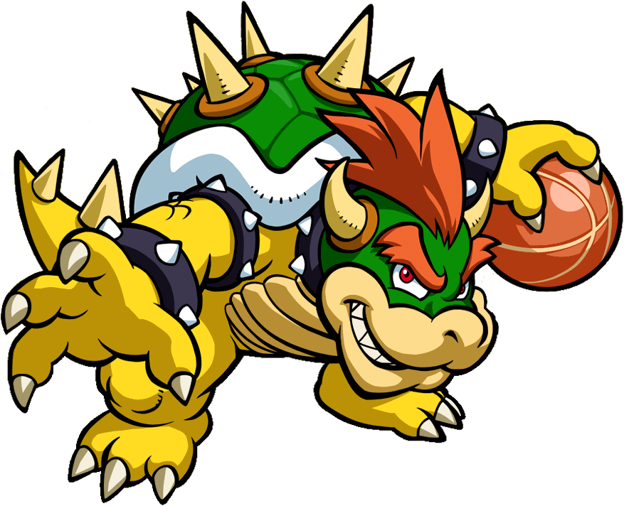 Basketball video clipart picture freeuse download Image - Bowser Artwork - Mario Hoops 3-on-3.png | Nintendo | FANDOM ... picture freeuse download