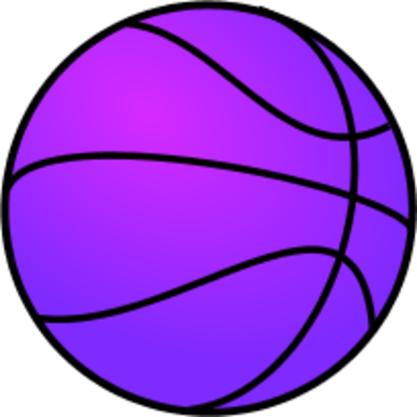 Basketball coloring page clipart transparent library Purple Clipart Basketball | jokingart.com Basketball Clipart transparent library