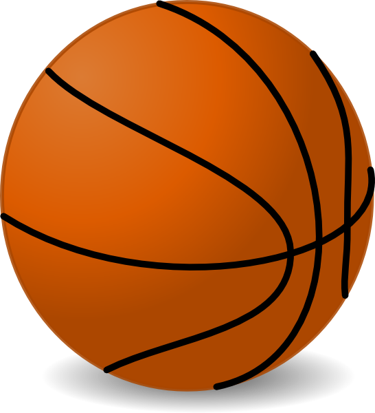 Free Cartoon Basketball Cliparts, Download Free Clip Art, Free Clip ... black and white
