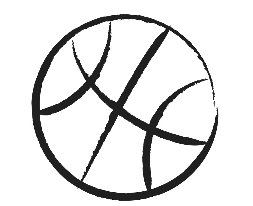 Basketball clipart black and whit picture royalty free Free White Basketball Cliparts, Download Free Clip Art, Free Clip ... picture royalty free