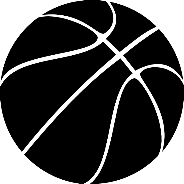 Clipart basketball black and white banner black and white stock Sphere PNG Black And White Transparent Sphere Black And White.PNG ... banner black and white stock