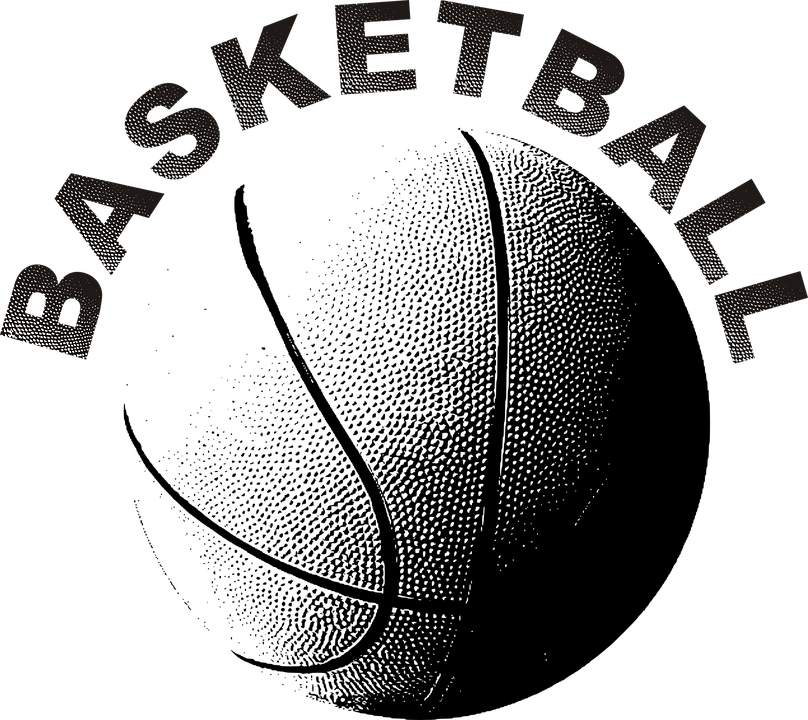 Basketball clipart black and white word with laces freeuse library Basketball Graphics Group (84+) freeuse library