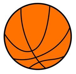 Basketball clipart clipart jpg royalty free library Basketball Clip Art & Basketball Clip Art Clip Art Images ... jpg royalty free library