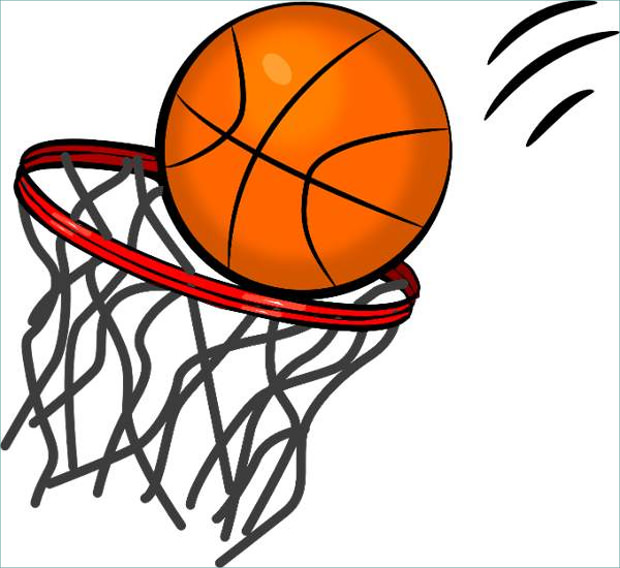 Basketball clipart clipart vector free library 24+ Basketball Cliparts, Images, Picutures | Design Trends vector free library