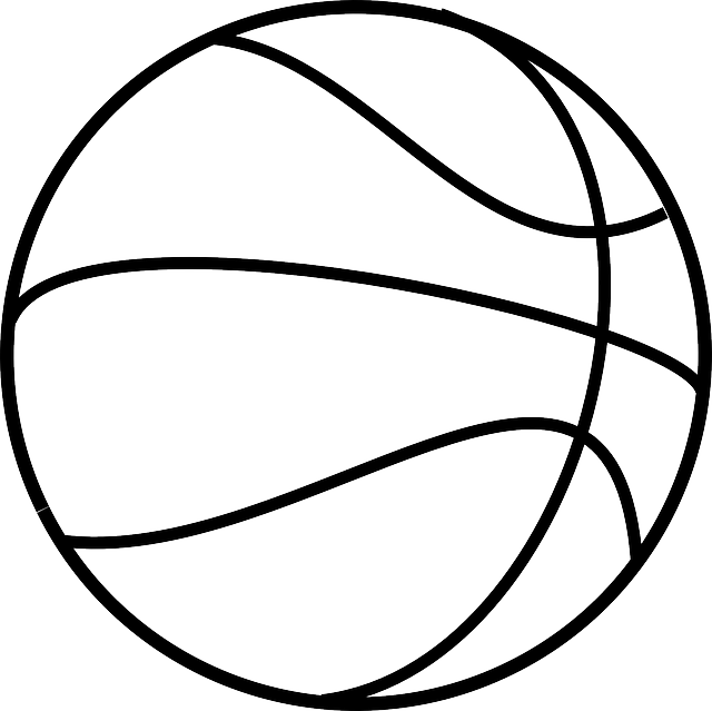 Black & white basketball sport clipart clip art transparent download Free Image on Pixabay - Basketball, Sport, Round, White | Pinterest ... clip art transparent download