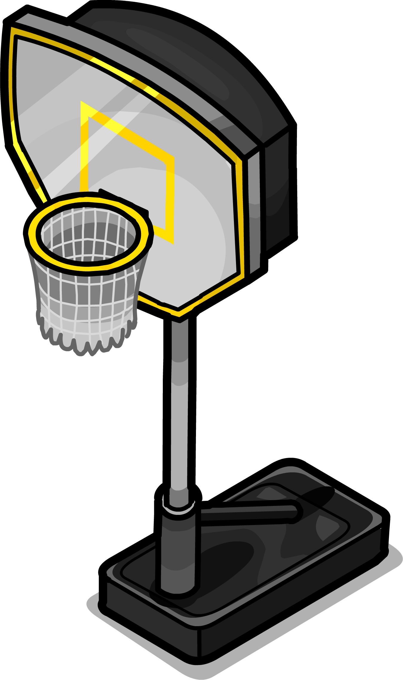 Basketball hoop clipart yellow clipart library stock Image - Basketball Hoop sprite 002.png | Club Penguin Wiki | FANDOM ... clipart library stock