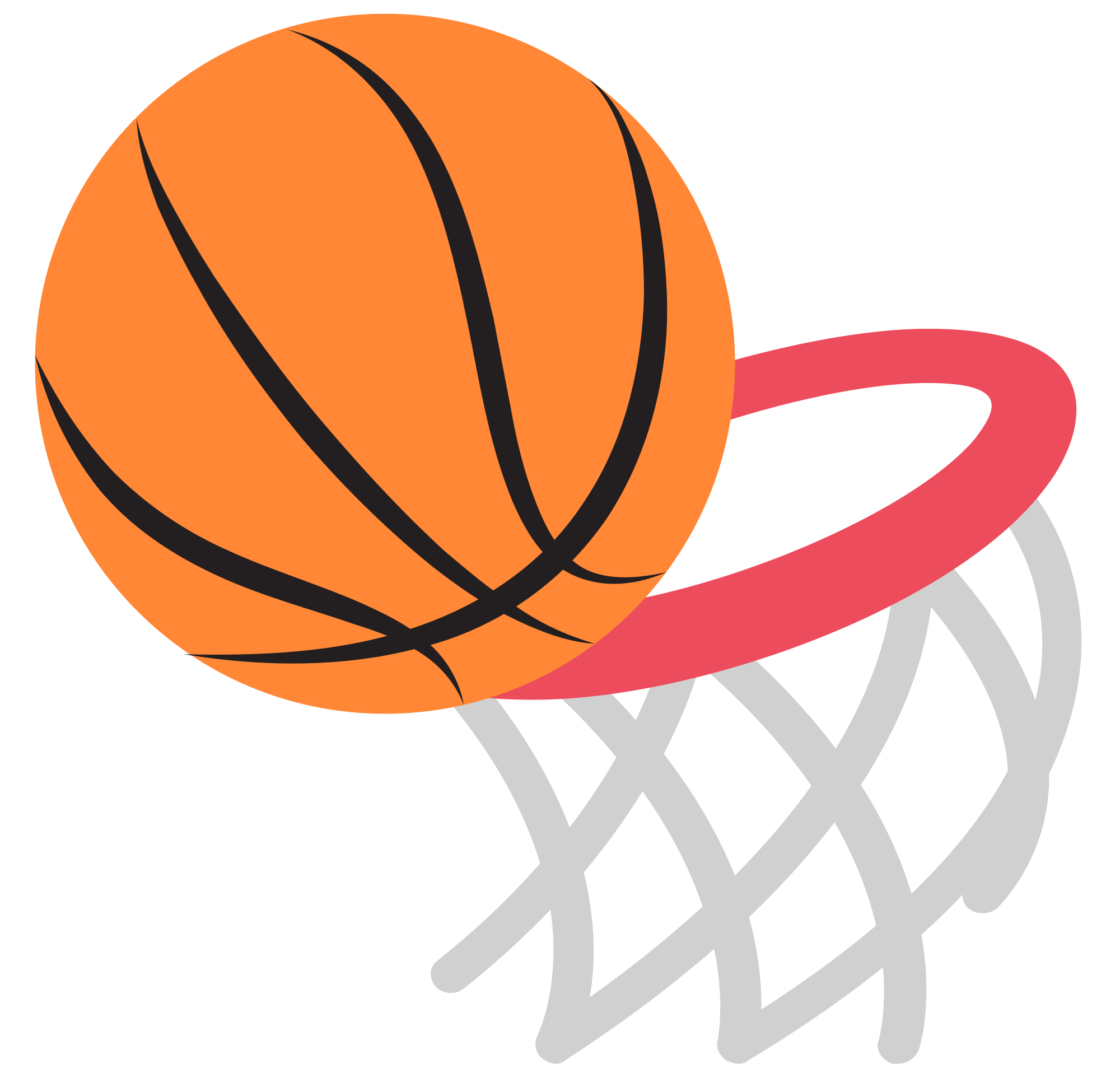 Basketball hoop with ball clipart vector free download The Basketball Drawer – Focused on the players, focused on the basket vector free download