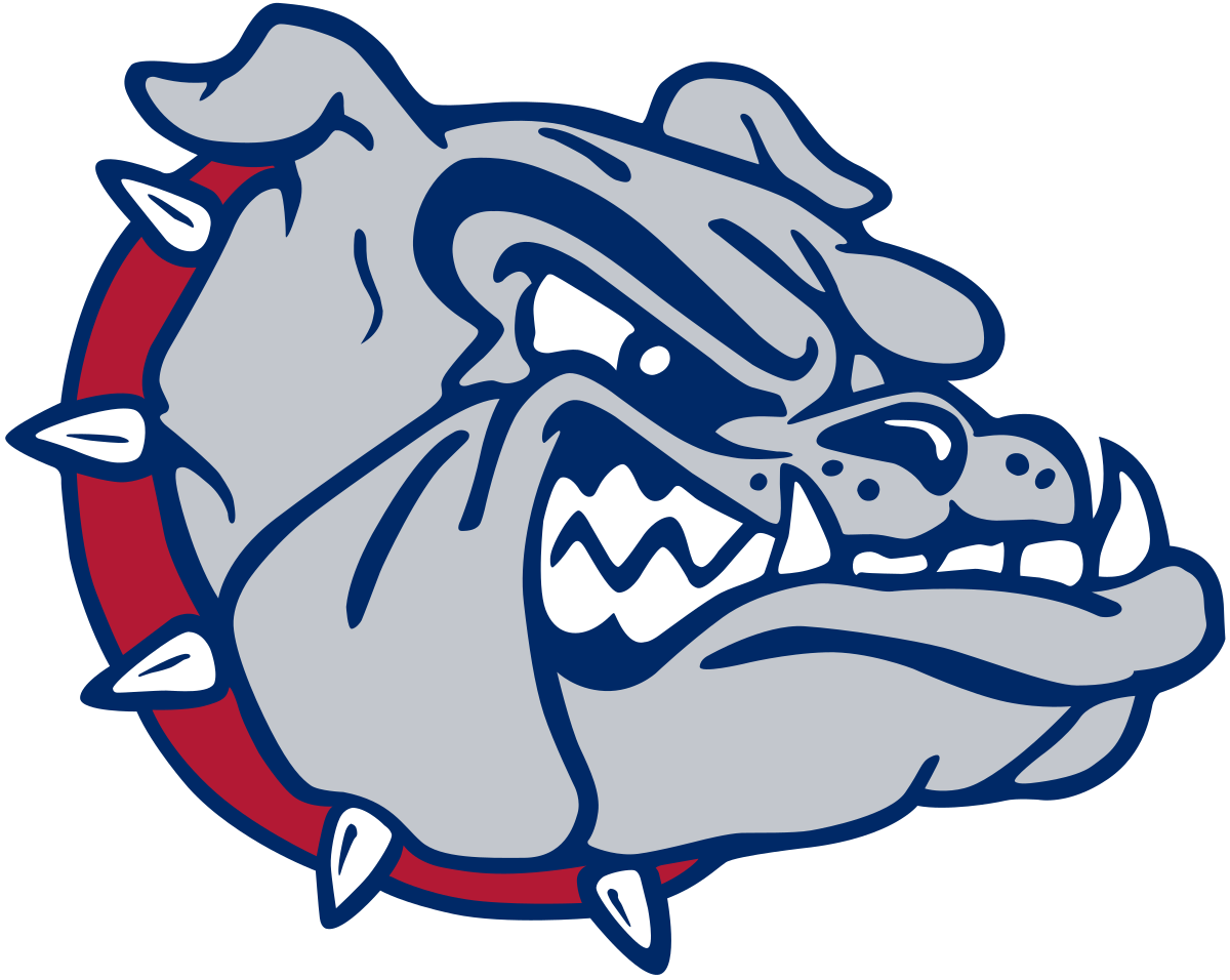 Bulldog mascot clipart with basketball