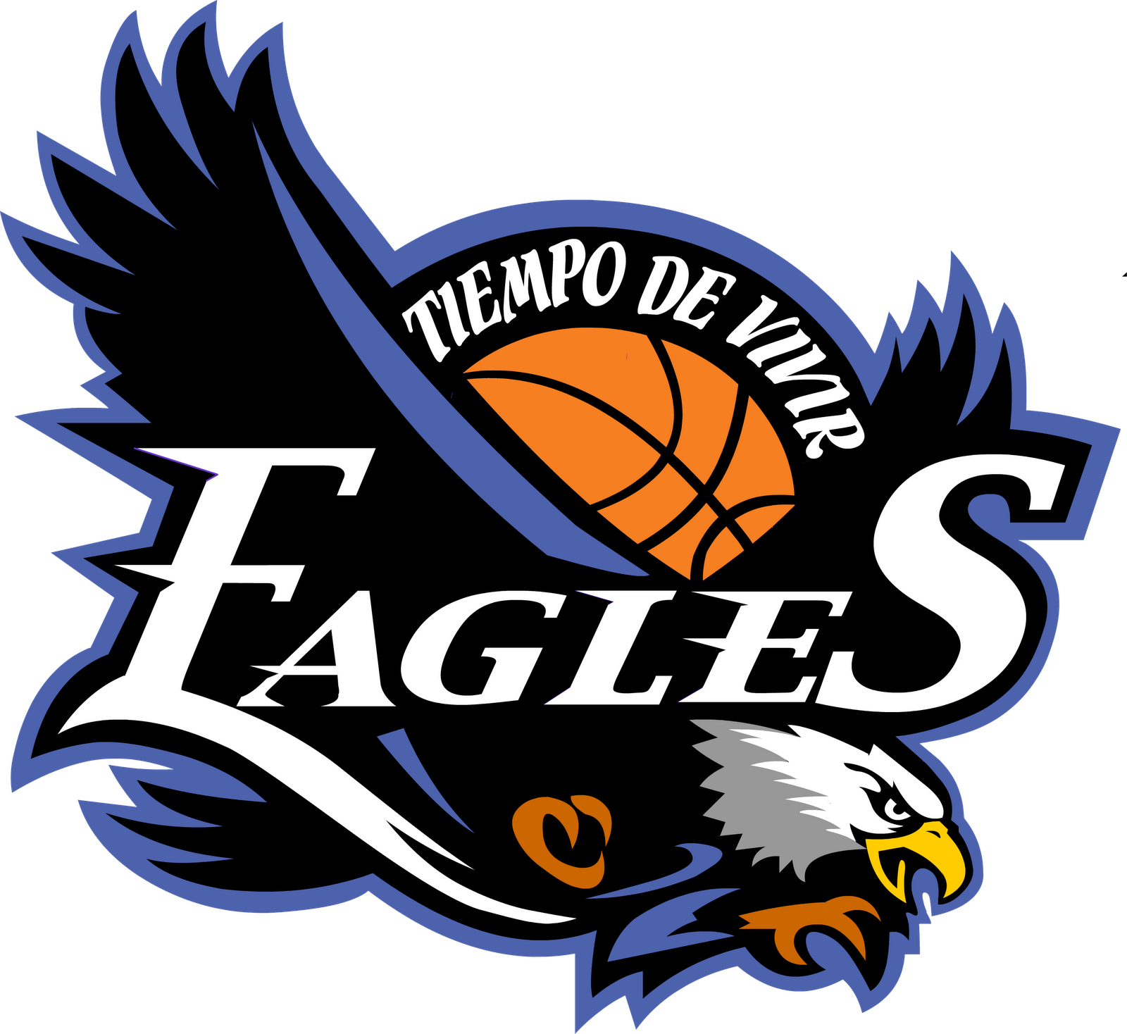 Basketball crest clipart svg free download Eagles Basketball Team Logo Clipart | Sport Logos | Pinterest ... svg free download