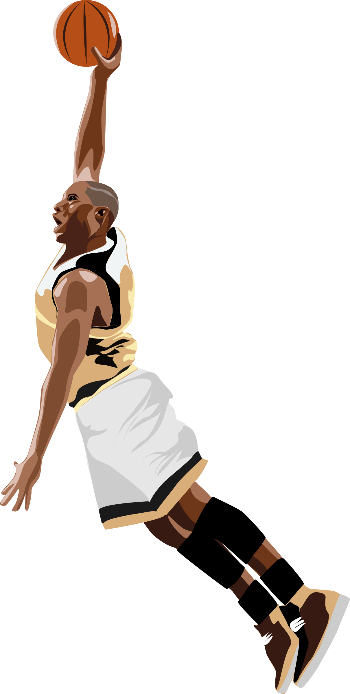 Clipart basketball player svg ⚽Free⚽ Basketball Clip Art Graphics, Images, Photos Download svg