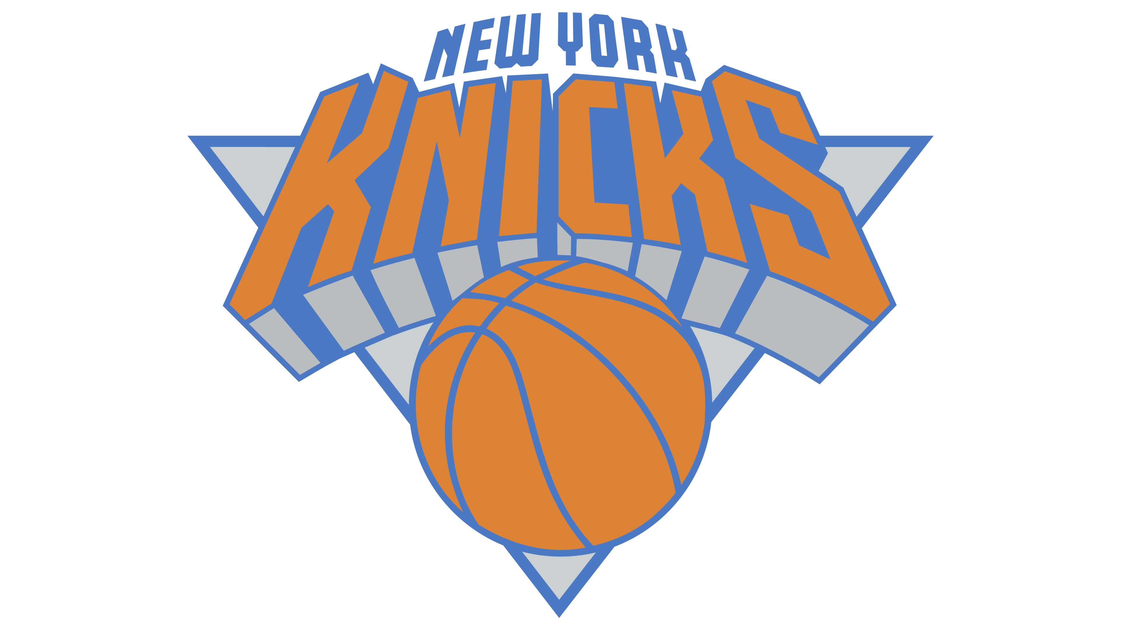 Basketball clipart rgb transparent library New York Knicks logo - Interesting History of the Team Name and emblem transparent library