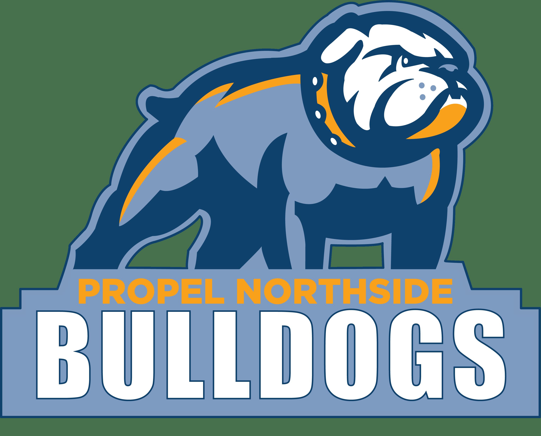 Bulldog mascot clipart with basketball svg transparent stock Propel Northside has new mascot, new athletic program | Northside ... svg transparent stock