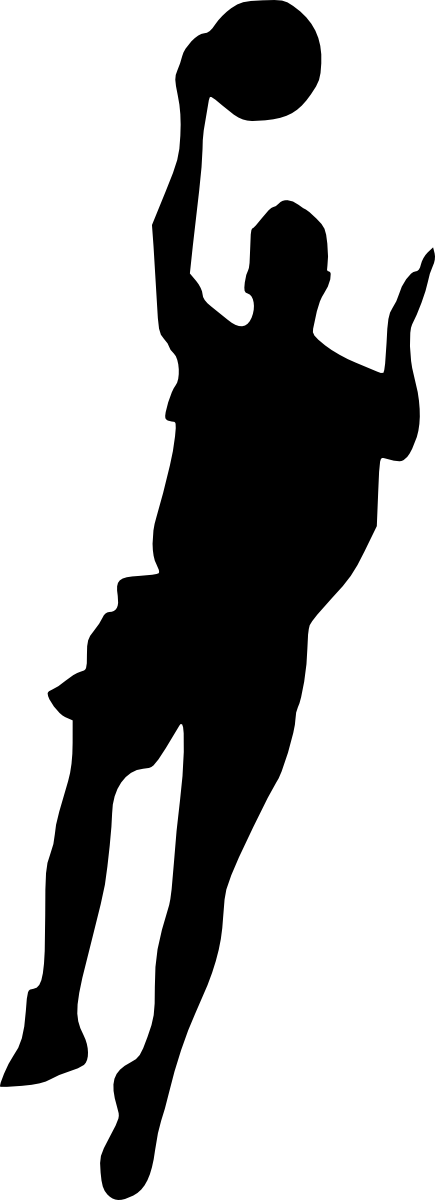 Basketball player clipart png clip art royalty free 19 Basketball Player Silhouette (PNG Transparent) | OnlyGFX.com clip art royalty free
