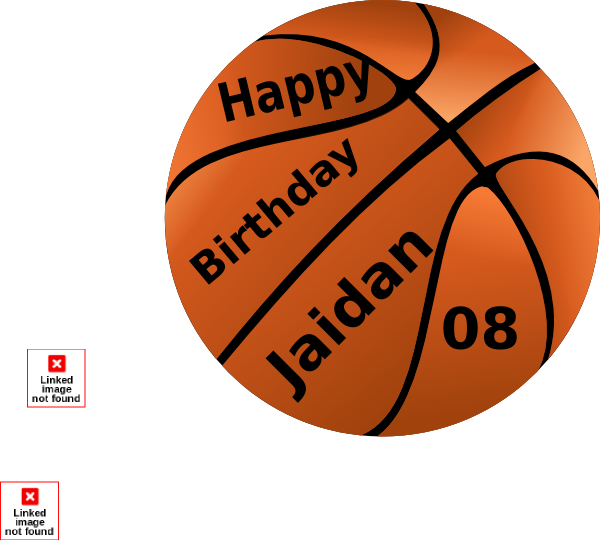 Basketball kid clipart stock Happy Birthday Jaidan Basketball Clip Art at Clker.com - vector clip ... stock