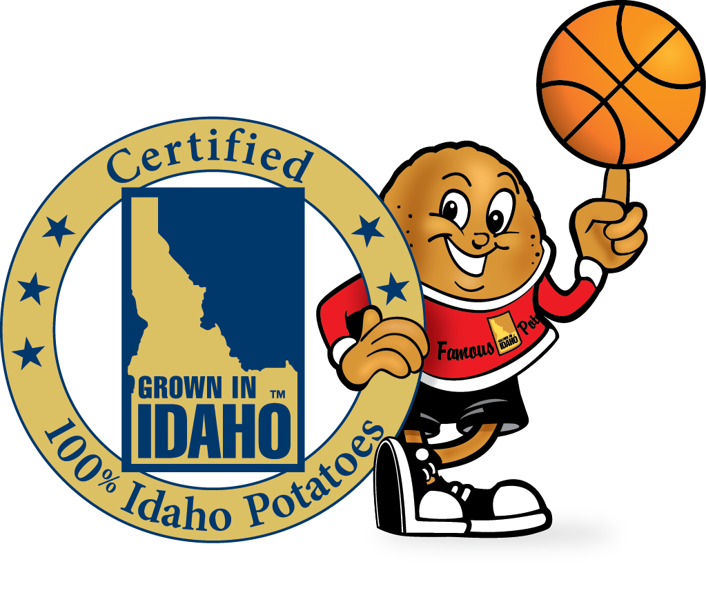 Fun basketball clipart image library library Idaho Potato Commission image library library