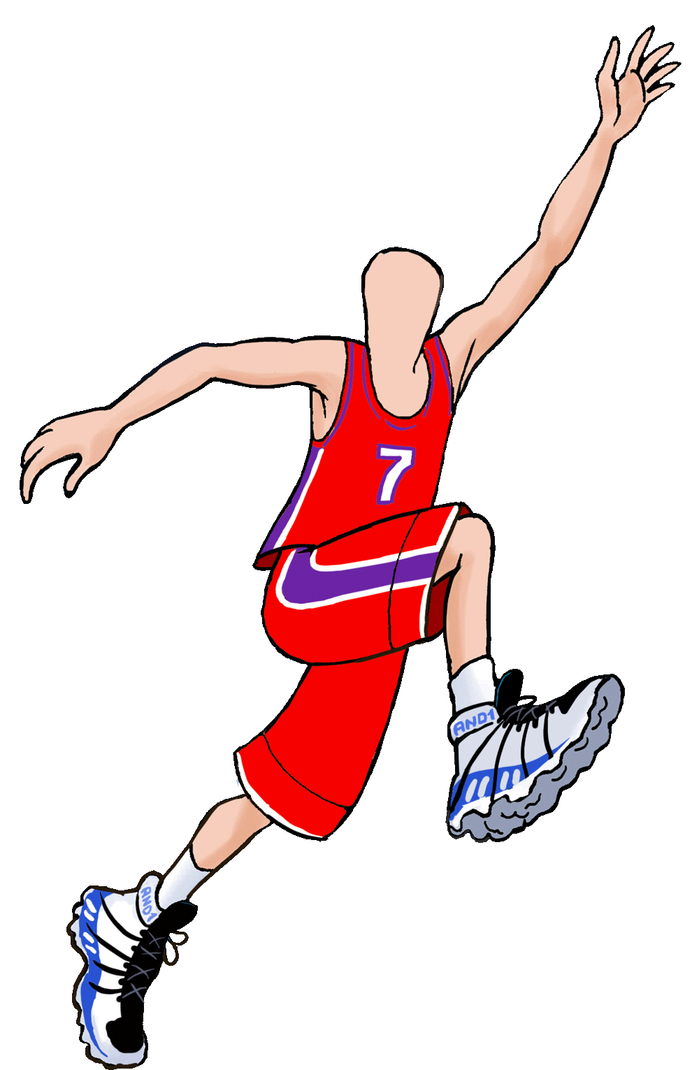 Basketball clipart watermark jpg download Order a caricature from photo online by Wish2Be #1 artists jpg download