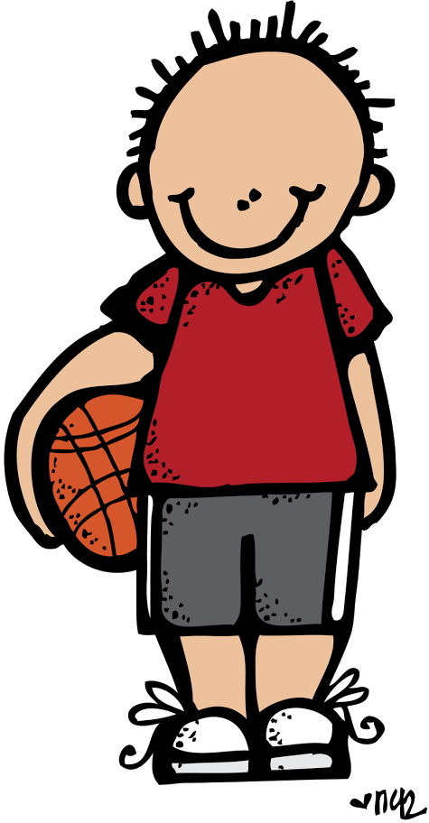 Santa playing basketball clipart free picture freeuse Melonheadz clipart basketball ~ Frames ~ Illustrations ~ HD images ... picture freeuse