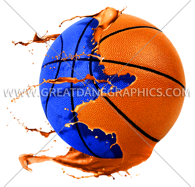 Basketball clipart with splatter vector free download Paintball Basketball | Production Ready Artwork for T-Shirt Printing vector free download