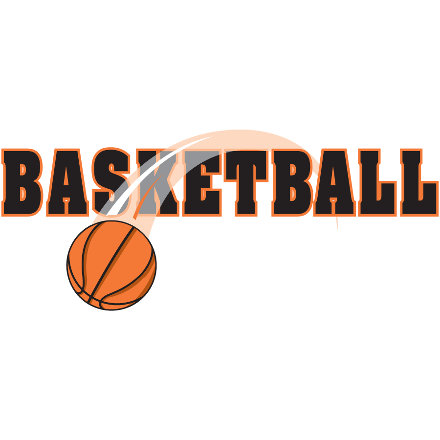 Basketball clipart with word banner Website Creator banner