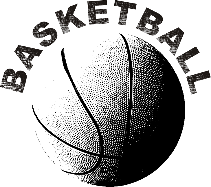 Basketball word clipart clip black and white 28+ Collection of The Word Basketball Clipart | High quality, free ... clip black and white