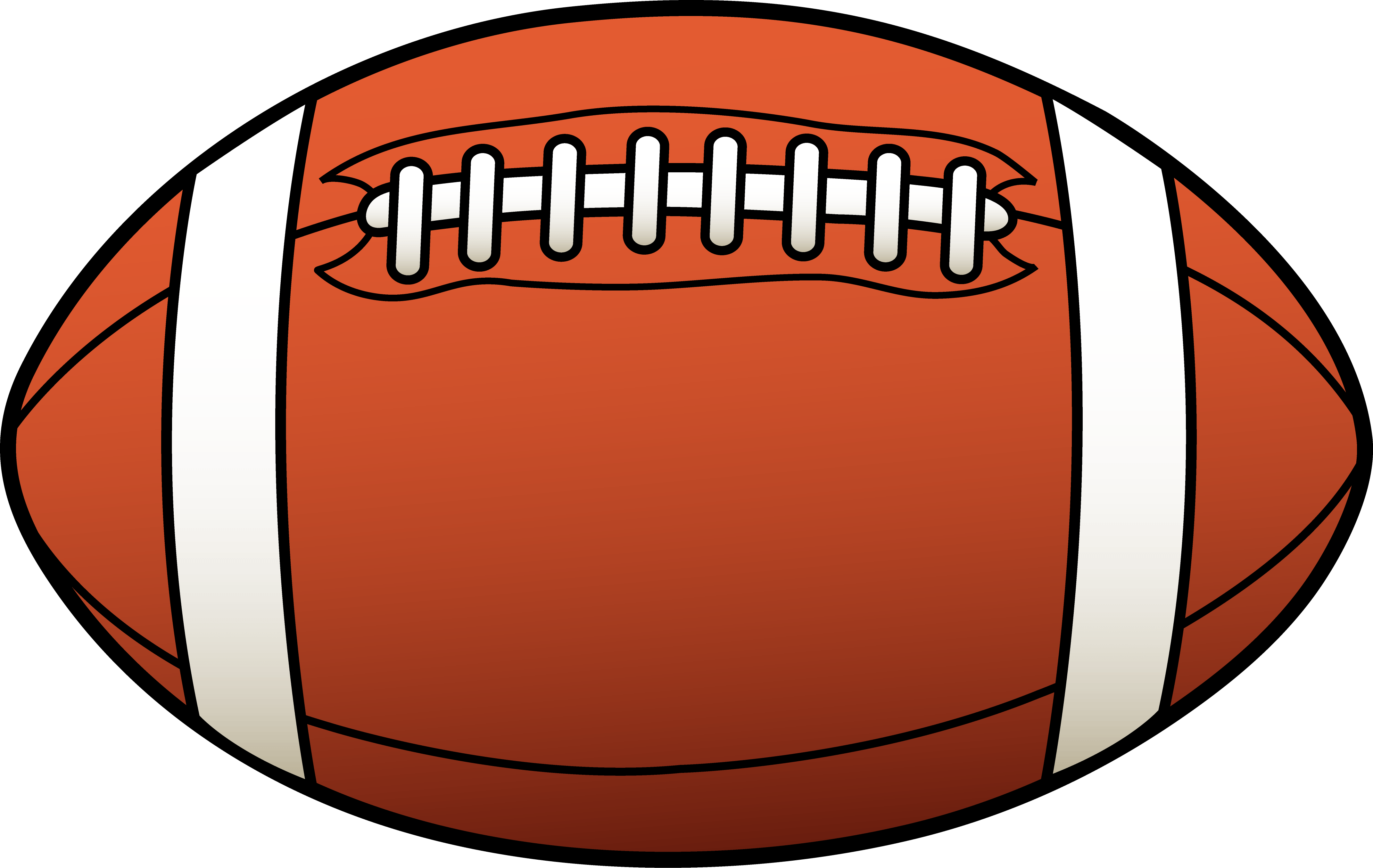 Solid football clipart svg black and white library Game Scores | The Morgan PawPrint svg black and white library