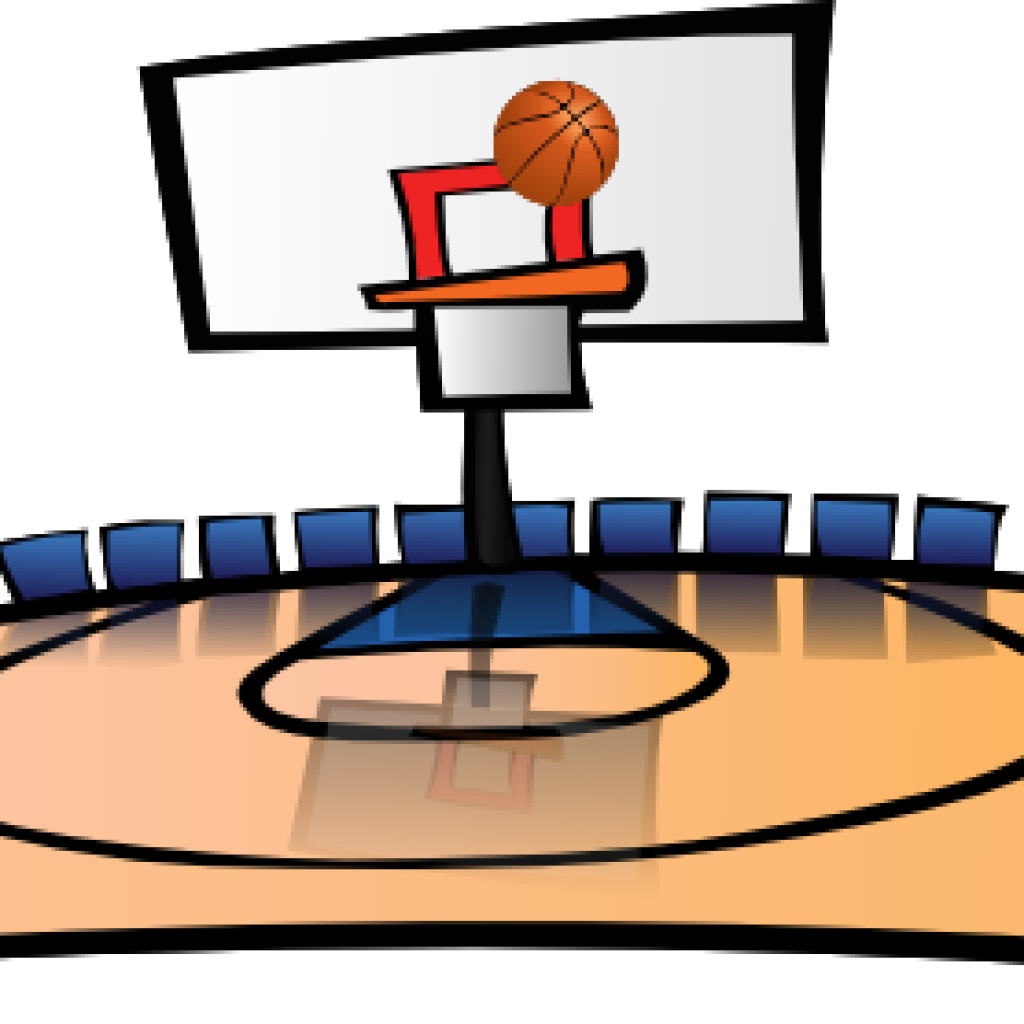 Clipart basketball court image free Basketball Court Clipart thank you clipart hatenylo.com image free