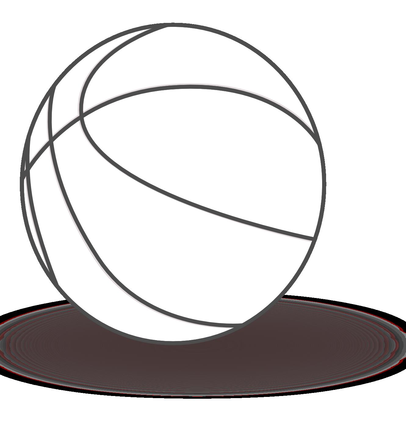 Basketball court black and white clipart jpg free stock Basketball court Black Clip art - basketball court 1331*1451 ... jpg free stock