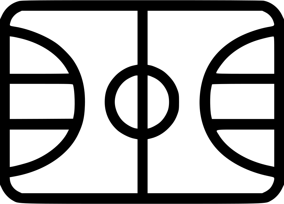 Basketball court clipart creative commons image free stock Basketball Court Svg Png Icon Free Download (#530442 ... image free stock