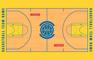 Basketball court lines clipart svg library library Basketball Court Free Vector Art - (1,192 Free Downloads) svg library library