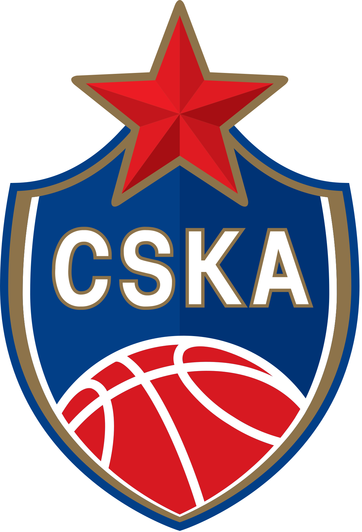 Basketball crest clipart jpg freeuse stock PBC CSKA Moscow - Wikipedia jpg freeuse stock