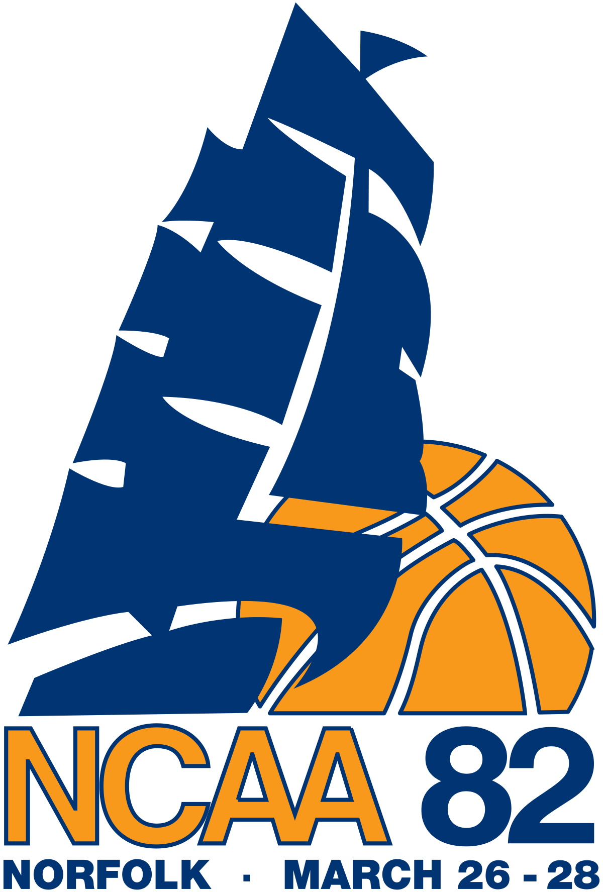 Basketball district champs clipart png free library 1982 NCAA Division I Women's Basketball Tournament - Wikipedia png free library