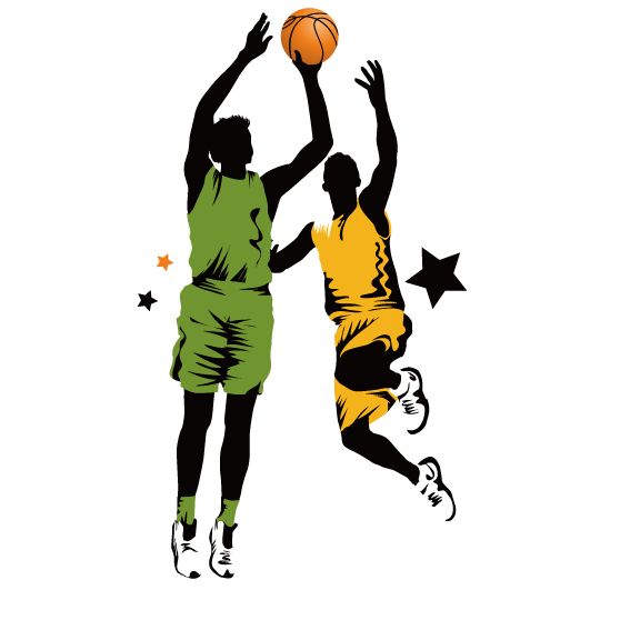 Basketball player dunking clipart clip transparent download Slam Dunk Clipart at GetDrawings.com | Free for personal use Slam ... clip transparent download