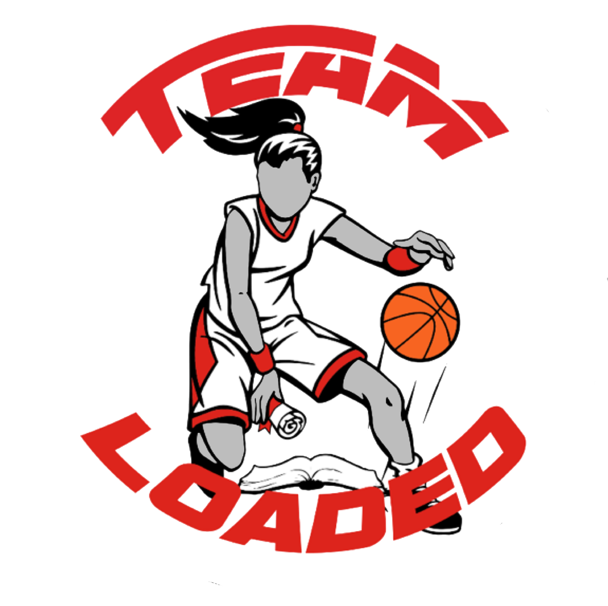 Girl dunking basketball clipart png black and white stock Team Loaded- Building a Dynasty – Insider Exposure png black and white stock