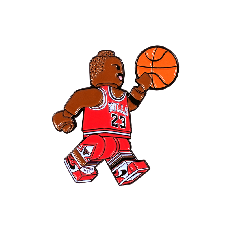 Basketball dunking clipart picture transparent Lego Airness Pin – peabe picture transparent