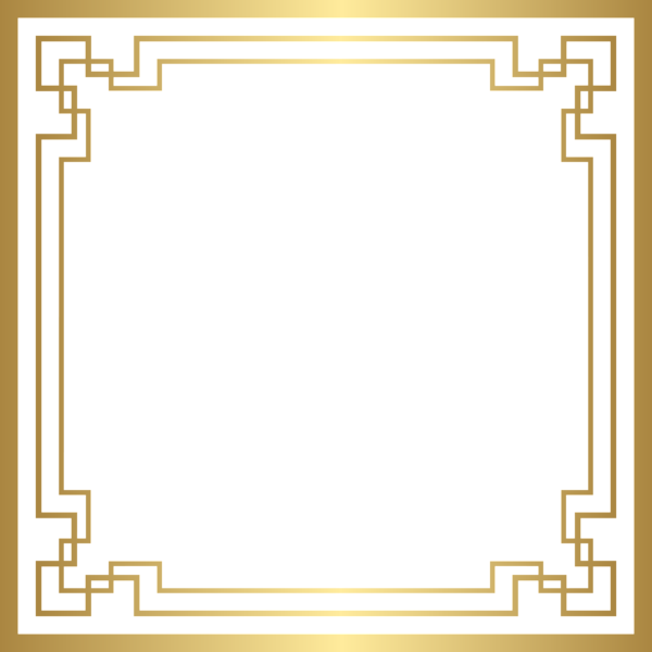Basketball edging clipart image transparent library Border Deco Frame PNG Gold Clip Art | Album art | Pinterest | Clip ... image transparent library
