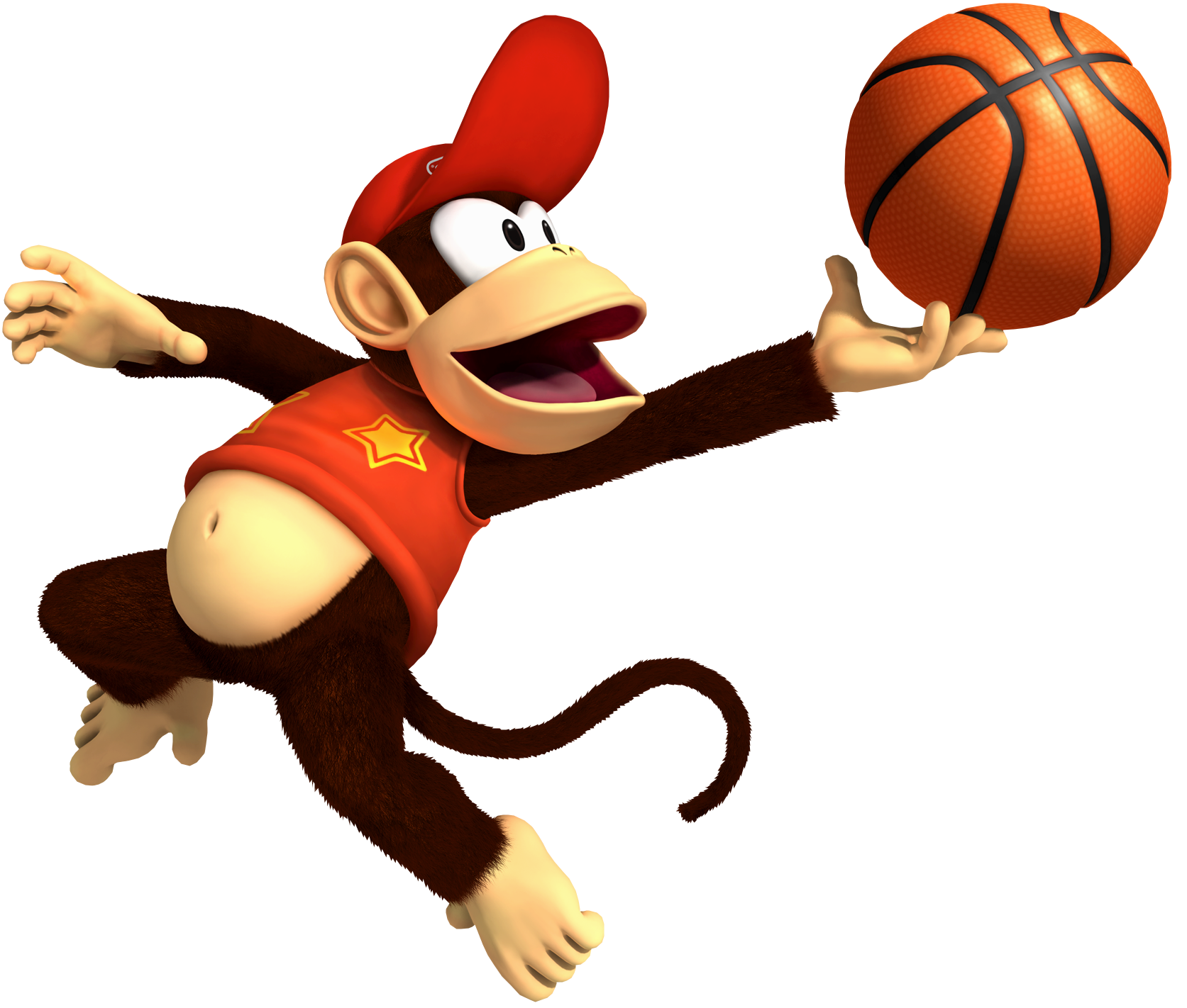 Basketball faceoff clipart vector freeuse stock DK Vine: Diddy Kong's Biography vector freeuse stock