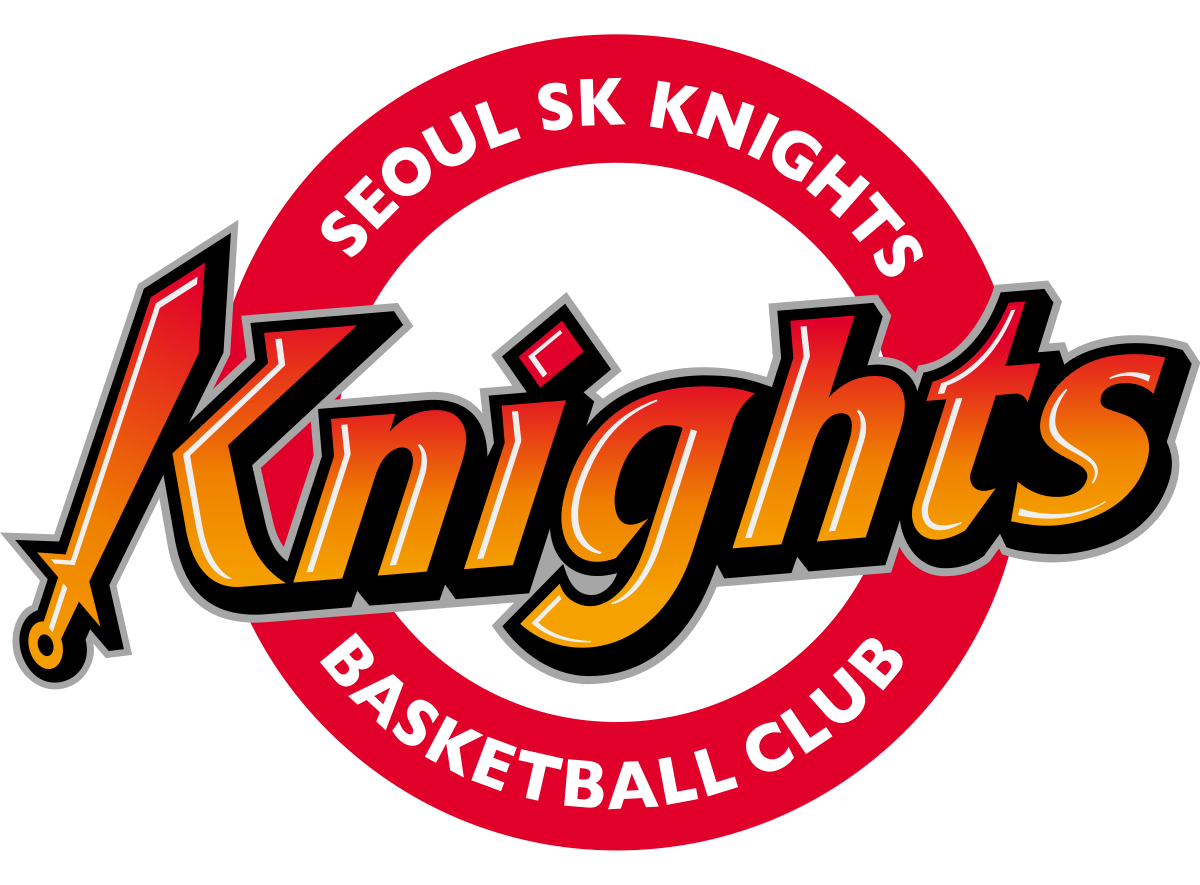 Knight basketball clipart svg black and white download Seoul SK Knights - Wikipedia svg black and white download