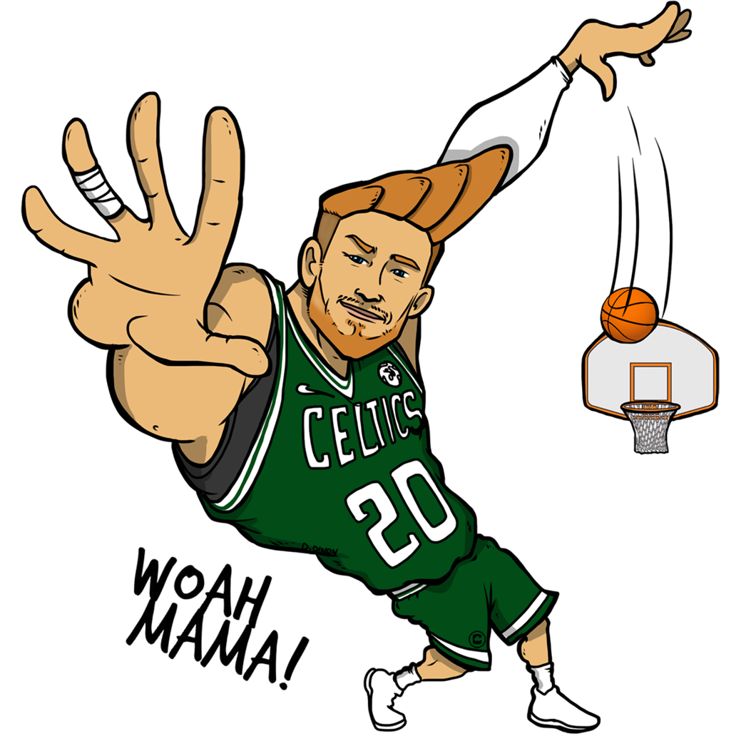 Basketball fans clipart png freeuse stock Celtics Social png freeuse stock
